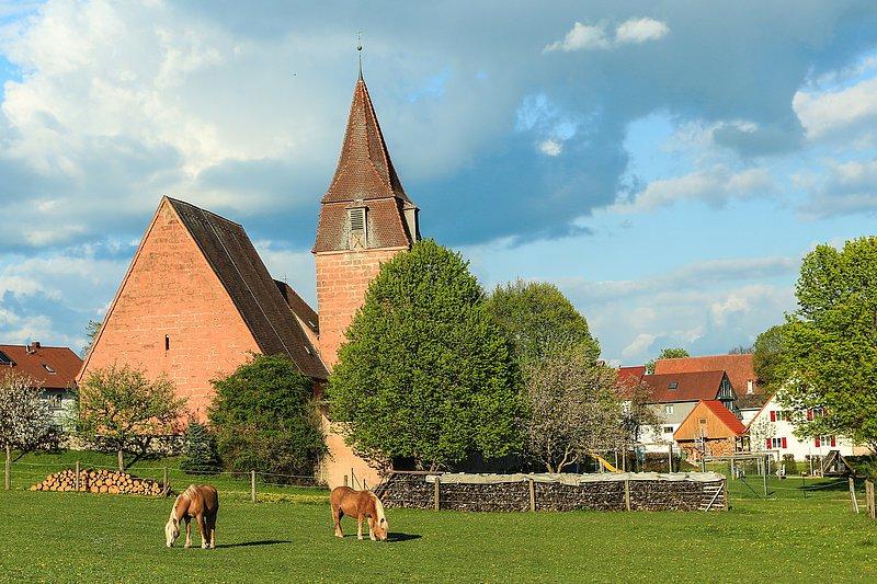 Hilpoltstein kath kirche Schutzengelkindergarten